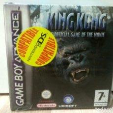 Videojuegos y Consolas: NINTENDO GAMEBOY ADVANCE JUEGO KING KONG NUEVO. Lote 191710492
