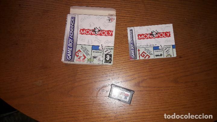JUEGO GAME BOY ADVANCE MONOPOLY (Juguetes - Videojuegos y Consolas - Nintendo - GameBoy Advance)