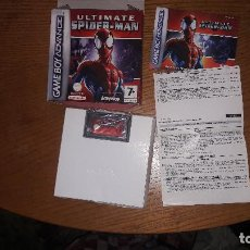 Videojuegos y Consolas: JUEGO GAME BOY ADVANCE ULTIMATE SPIDER-MAN. Lote 191981360