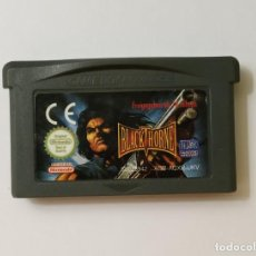 Videojuegos y Consolas: BLACKTHORNE - NINTENDO GAME BOY ADVANCE. Lote 192145597