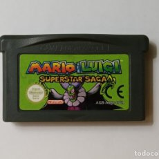 Videojuegos y Consolas: MARIO AND LUIGI SUPERSTAR SAGA - NINTENDO GAME BOY ADVANCE. Lote 192145761