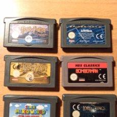 Videojuegos y Consolas: LOTE JUEGOS GAME BOY ADVANCE NINTENDO. Lote 192154626