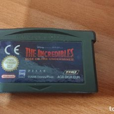 Videojuegos y Consolas: THE INCREDIBLES GAMEBOY ADVANCE. Lote 192161892