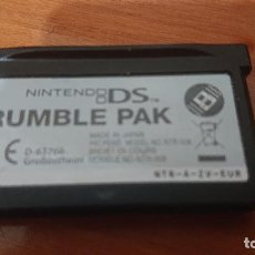Videojuegos y Consolas: NINTENDO DS RUMBLE PAK GAMEBOY ADVANCE CARTUCHO. Lote 192174055