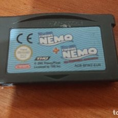 Videojuegos y Consolas: NEMO + NEMO GAME BOY ADVANCE CARTUCHO. Lote 192243501