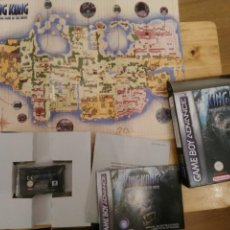 Videojuegos y Consolas: KING KONG THE OFFICIAL GAME OF THE MOVIE NINTENDO GAME BOY ADVANCE . Lote 192757632