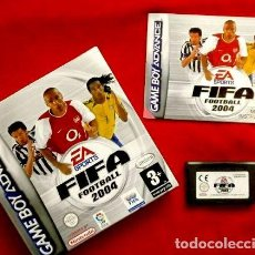 Videojuegos y Consolas: FIFA 2004 FOOTBALL - JUEGO PARA GAME BOY ADVANCE Y COLOR - TOTALMENTE EN CASTELLANO - GAMEBOY. Lote 209039142