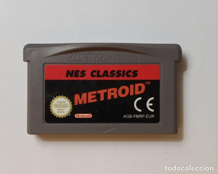 METROID NES CLASSICS - NINTENDO GAME BOY ADVANCE (Juguetes - Videojuegos y Consolas - Nintendo - GameBoy Advance)