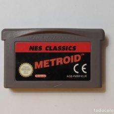 Videojuegos y Consolas: METROID NES CLASSICS - NINTENDO GAME BOY ADVANCE. Lote 193866646