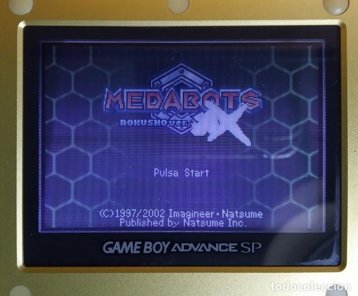 Videojuegos y Consolas: Medabots AX Rokusho version - Nintendo Game Boy Advance - Foto 2 - 193866696