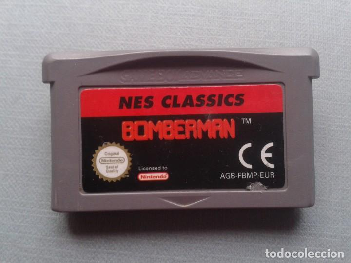 JUEGO NINTENDO GAME BOY ADVANCE BOMBERMAN NES CLASSICS SOLO CARTUCHO PAL EUR R9955 (Juguetes - Videojuegos y Consolas - Nintendo - GameBoy Advance)