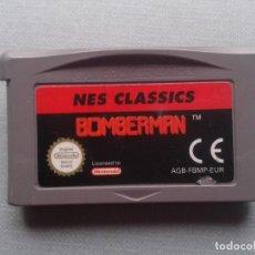 Videojuegos y Consolas: JUEGO NINTENDO GAME BOY ADVANCE BOMBERMAN NES CLASSICS SOLO CARTUCHO PAL EUR R9955. Lote 194277313