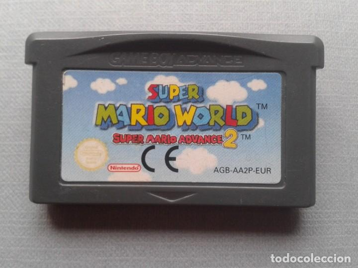 JUEGO NINTENDO GAME BOY ADVANCE SUPER MARIO WORLD 2 SOLO CARTUCHO PAL EUR R9956 (Juguetes - Videojuegos y Consolas - Nintendo - GameBoy Advance)