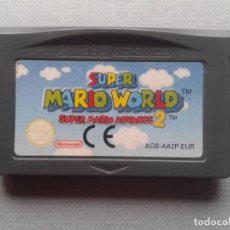 Videojuegos y Consolas: JUEGO NINTENDO GAME BOY ADVANCE SUPER MARIO WORLD 2 SOLO CARTUCHO PAL EUR R9956. Lote 194278200