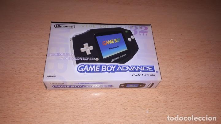 GAME BOY ADVANCE NEGRA CON CAJA (Juguetes - Videojuegos y Consolas - Nintendo - GameBoy Advance)