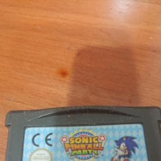 Videojuegos y Consolas: SONIC PINBALL PARTY GAME BOY ADVANCE CARTUCHO. Lote 194622405