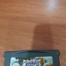 Videojuegos y Consolas: RUGRATS TRAVESURAS EN EL CASTILLO GAME BOY ADVANCE CARTUCHO. Lote 194622606