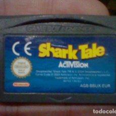Videojuegos y Consolas: SHARK TALE GBA GAMEBOY GAME BOY ADVANCE CARTUCHO FUNCIONANDO USADO LEER ORIGINAL. Lote 194719720