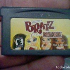 Videojuegos y Consolas: BRATZ DIAMONDZ GBA GAMEBOY GAME BOY ADVANCE CARTUCHO FUNCIONANDO USADO LEER ORIGINAL. Lote 194719860