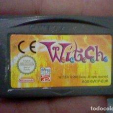 Videojuegos y Consolas: WITCH GBA GAMEBOY GAME BOY ADVANCE CARTUCHO FUNCIONANDO USADO LEER ORIGINAL. Lote 194720815