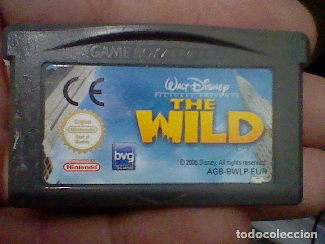 WILD GBA GAMEBOY GAME BOY ADVANCE CARTUCHO FUNCIONANDO USADO LEER ORIGINAL (Juguetes - Videojuegos y Consolas - Nintendo - GameBoy Advance)