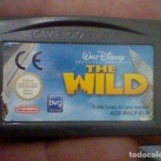 Videojuegos y Consolas: WILD GBA GAMEBOY GAME BOY ADVANCE CARTUCHO FUNCIONANDO USADO LEER ORIGINAL. Lote 194721335