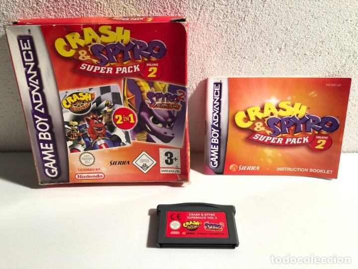 CRASH & SPYRO SUPER PACK VOL. 2 NINTENDO GAME BOY ADVANCE (Juguetes - Videojuegos y Consolas - Nintendo - GameBoy Advance)