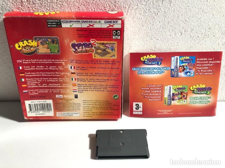 Videojuegos y Consolas: Crash & Spyro Super Pack Vol. 2 Nintendo Game Boy Advance - Foto 2 - 194875691