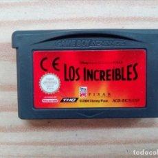 Videojuegos y Consolas: JUEGO GAME BOY ADVANCE - LOS INCREIBLES. Lote 194888881