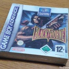 Videojuegos y Consolas: (PRECINTADO) BLACKTHORNE PARA GAMEBOY ADVANCE GBA Y DS COMPLETO VERSIÓN ESPAÑOLA - BLACK THORNE. Lote 194990015