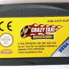 Videojuegos y Consolas: CRAZY TAXI GAME BOY ADVANCE. Lote 195054338