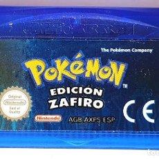 Videojuegos y Consolas: POKEMON ZAFIRO GAME BOY ADVANCE. Lote 195056846