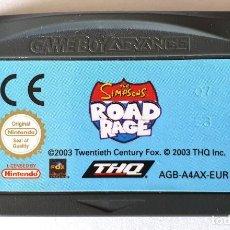Videojuegos y Consolas: SIMPSONS ROAD RAGE ADVANCE GAME BOY. Lote 195057085