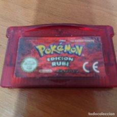 Videojuegos y Consolas: POKEMON EDICION RUBI GAMEBOY ADVANCE CARTUCHO. Lote 195188541