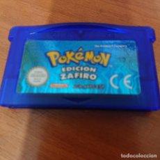 Videojuegos y Consolas: POKEMON EDICION ZAFIRO GAME BOY ADVANCE. Lote 195188822