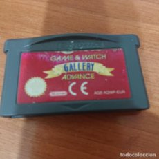 Videojuegos y Consolas: GAME & WATCH GALLERY ADVANCE GAME BOY ADVANCE CARTUCHO. Lote 195188995