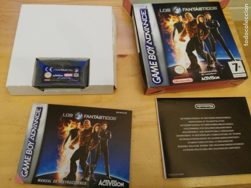 LOS 4 FANTÁSTICOS - GAMEBOY ADVANCE - CASTELLANO (Juguetes - Videojuegos y Consolas - Nintendo - GameBoy Advance)