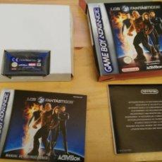 Videojuegos y Consolas: LOS 4 FANTÁSTICOS - GAMEBOY ADVANCE - CASTELLANO. Lote 195244032