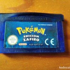 Jeux Vidéo et Consoles: POKEMON EDICION ZAFIRO - VIDEOJUEGO GAME BOY ADVANCE. Lote 195985827