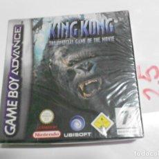 Videojuegos y Consolas: ANTIGUO JUEGO GAMEBOY ADVANCE - KING KONG EL JUEGO OFICIAL DE LA PELICULA NUEVO PRECINTADO. Lote 197811883