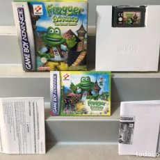 Videojuegos y Consolas: FROGGER ADVANCE THE GREAT QUEST COMPLETO NINTENDO. Lote 198338348