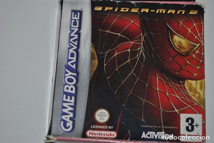 JUEGO SPIDERMAN 2 CON INSTRUCCIONES (Juguetes - Videojuegos y Consolas - Nintendo - GameBoy Advance)