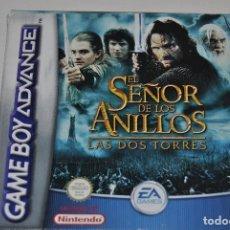 Videojuegos y Consolas: JUEGO EL SEÑOR DE LOS ANILLOS LAS DOS TORRES CON INSTRUCCIONES. Lote 198720703