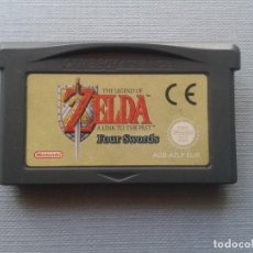 Videojuegos y Consolas: JUEGO GAME BOY ADVANCE ZELDA LINK PAST FOUR SWORDS SOLO CARTUCHO PAL EUR R10438. Lote 198793952