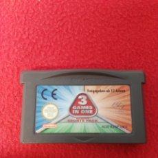 Videojuegos y Consolas: JUEGO GAME BOY ADVANCE 3 GAMES IN ONE. Lote 198978145
