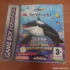 Videojuegos y Consolas: SEAWORLD ADVENTURE PARKS GAMEBOY ADVANCE COMPLETO. Lote 199143980