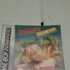 Videojuegos y Consolas: JUEGO PARA GAME BOY ADVANCE BRITNEYS DANCE BEAT. Lote 199248140