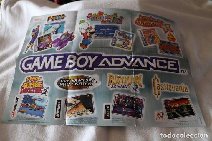 FOLLETO NINTENDO GAME BOY ADVANCE 2001 PUBLICIDAD NUEVO DE CAJA GAME LINK CABLE (Juguetes - Videojuegos y Consolas - Nintendo - GameBoy Advance)
