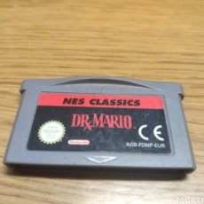 Videojuegos y Consolas: RARO JUEGO DRX DR. MARIO NES CLASSICS GAME BOY ADVANCE GBA. Lote 201492957