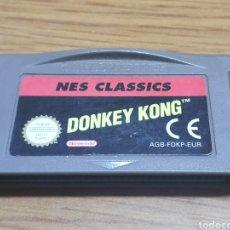 Videojuegos y Consolas: JUEGO NINTENDO GAME BOY ADVANCE GBA NES CLASSICS DONKEY KONG. Lote 201495602